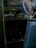 外向けサーバ