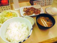 豚焼肉定食
