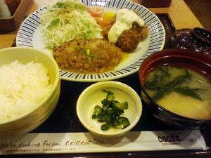 牡蠣フライ膳