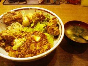 小盛唐揚トーフ丼